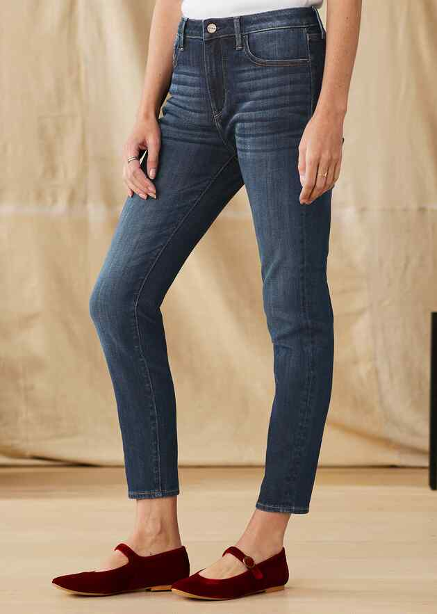 JACKIE HIGH RISE ANKLE JEANS