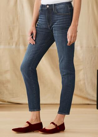 JACKIE HIGH-RISE ANKLE JEANS