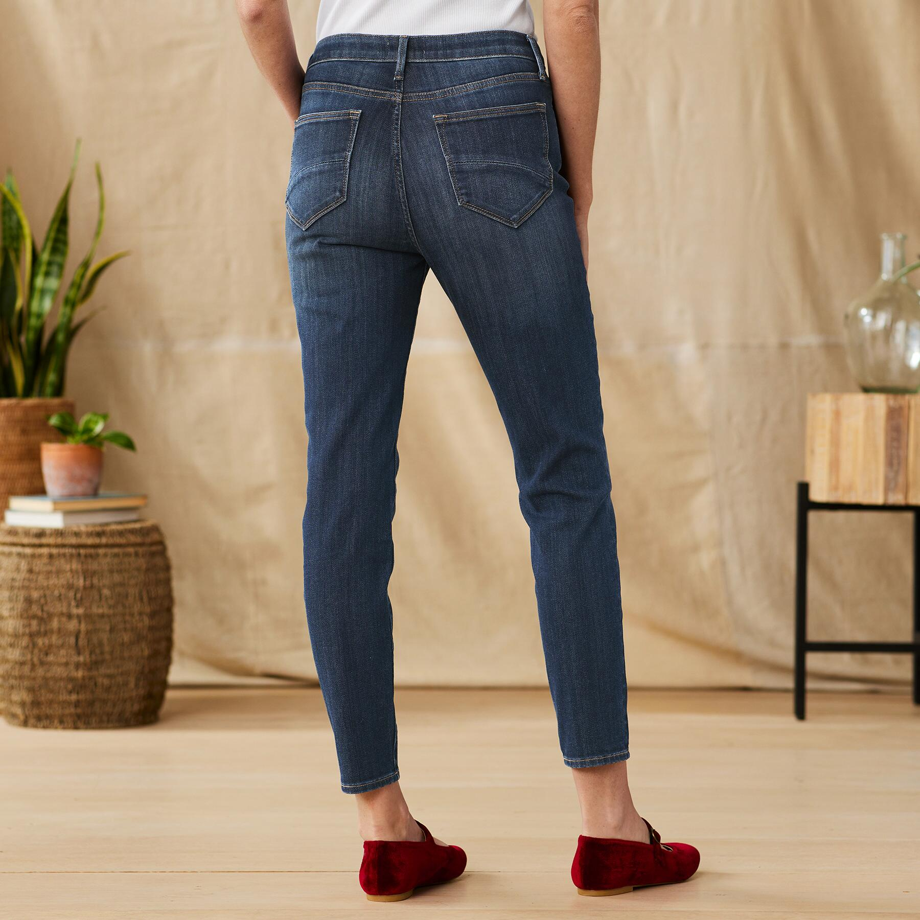 JACKIE HIGH RISE ANKLE JEANS: View 2