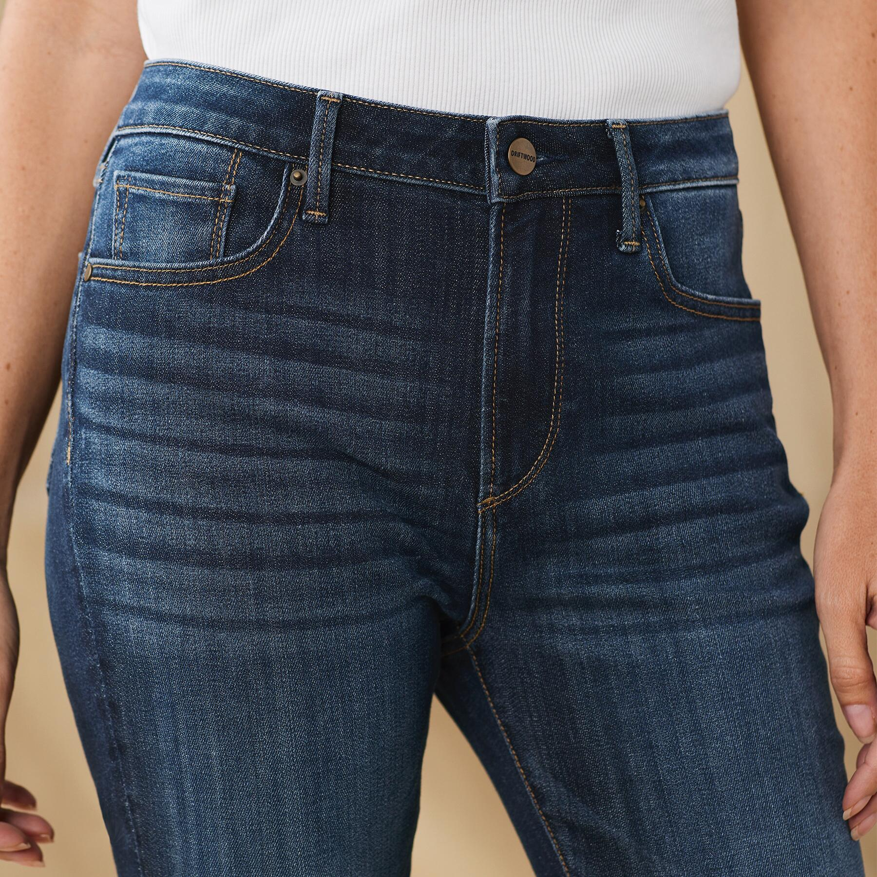 JACKIE HIGH RISE ANKLE JEANS: View 3