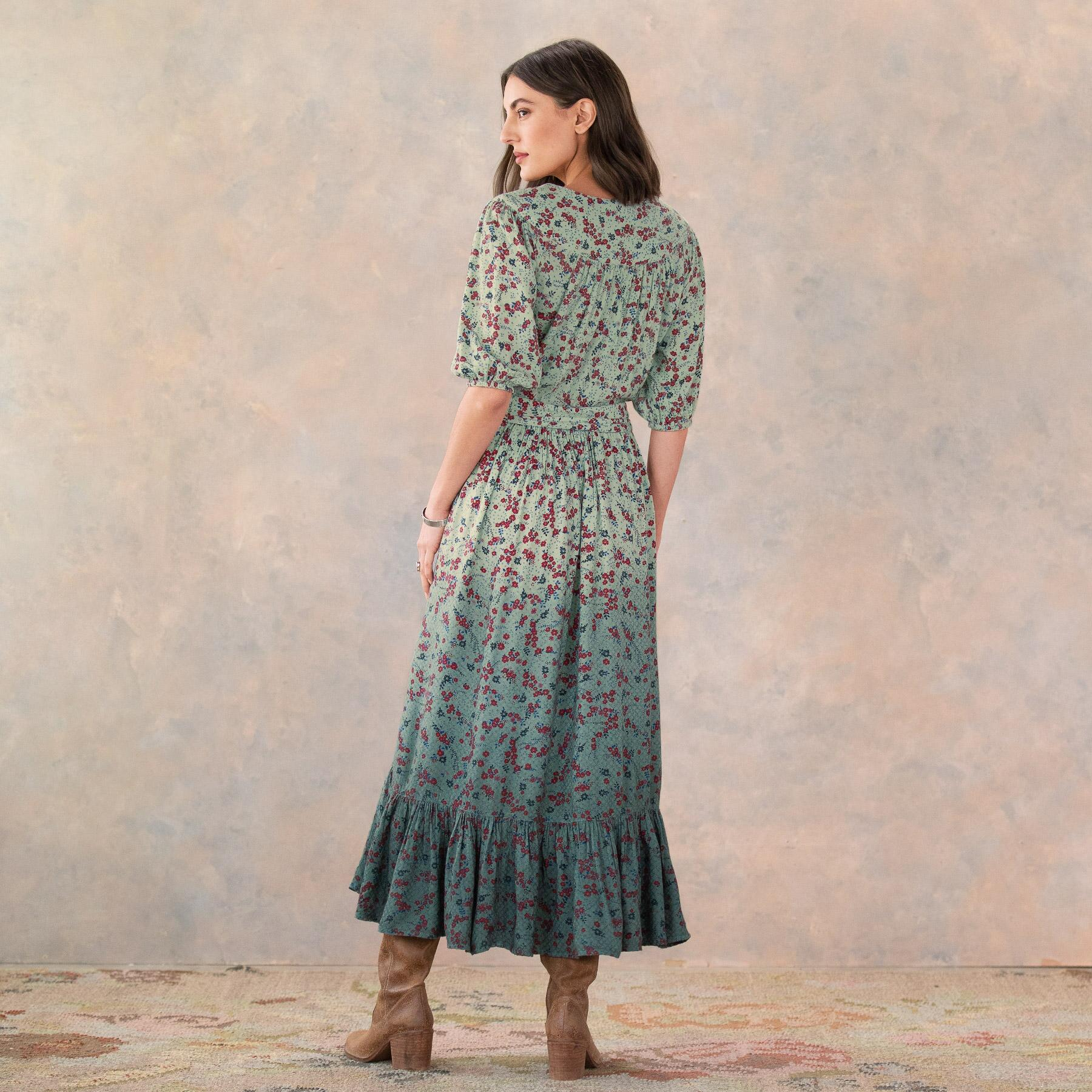 FLORAL FIELDS DRESS: View 4
