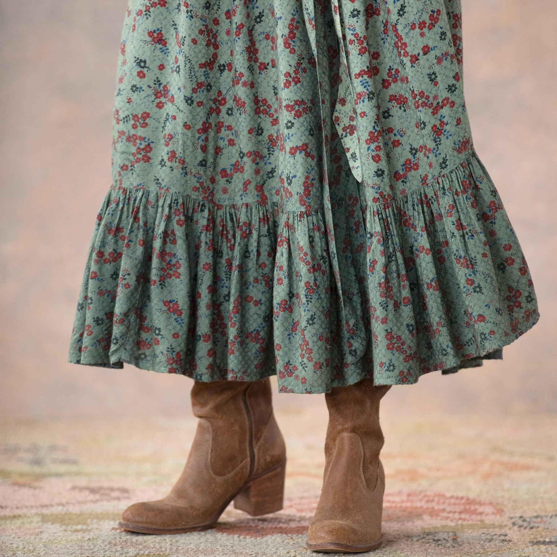 FLORAL FIELDS DRESS: View 7