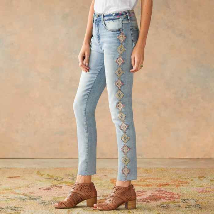 JACKIE CHAMOMILLE JEANS