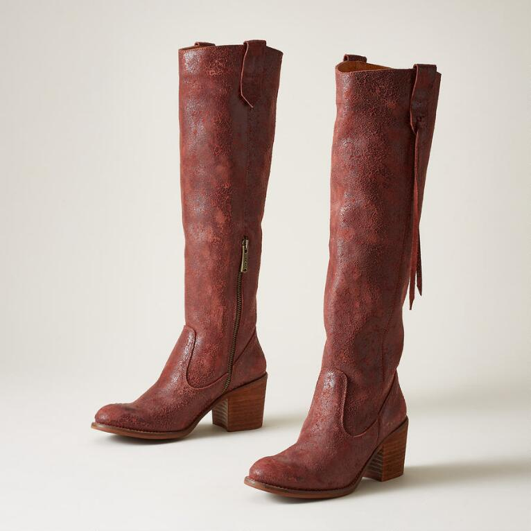 TALA CRACKLE BOOTS