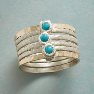 ARC OF TURQUOISE RING