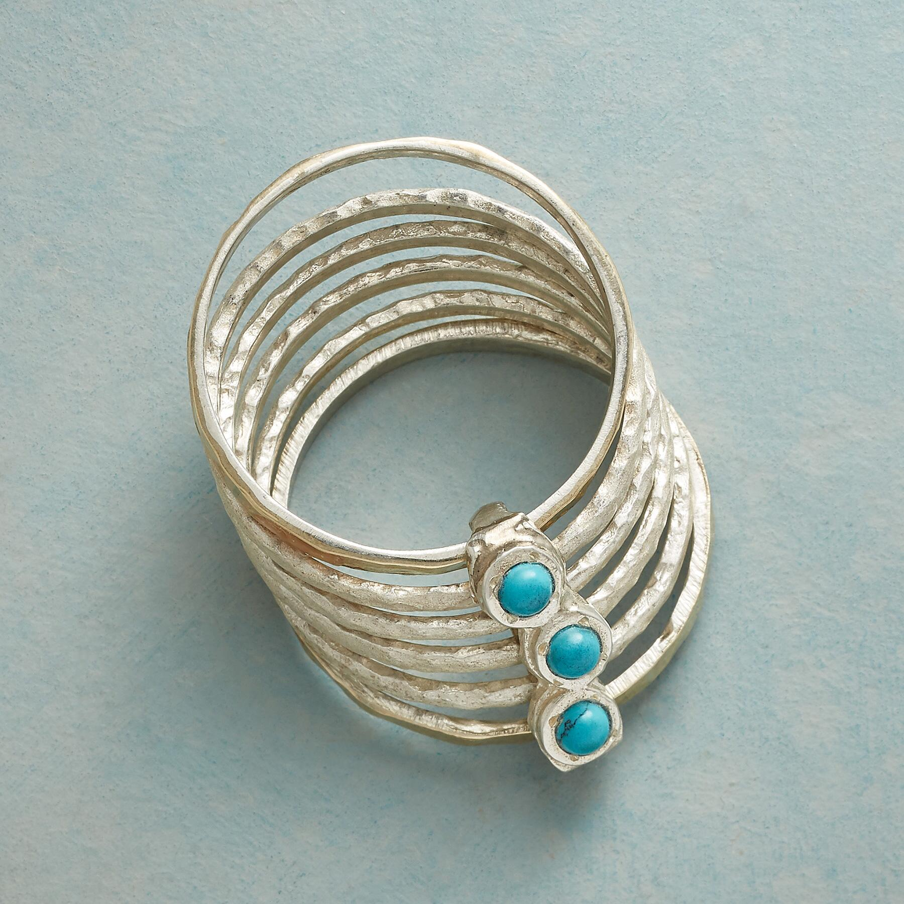 ARC OF TURQUOISE RING: View 2