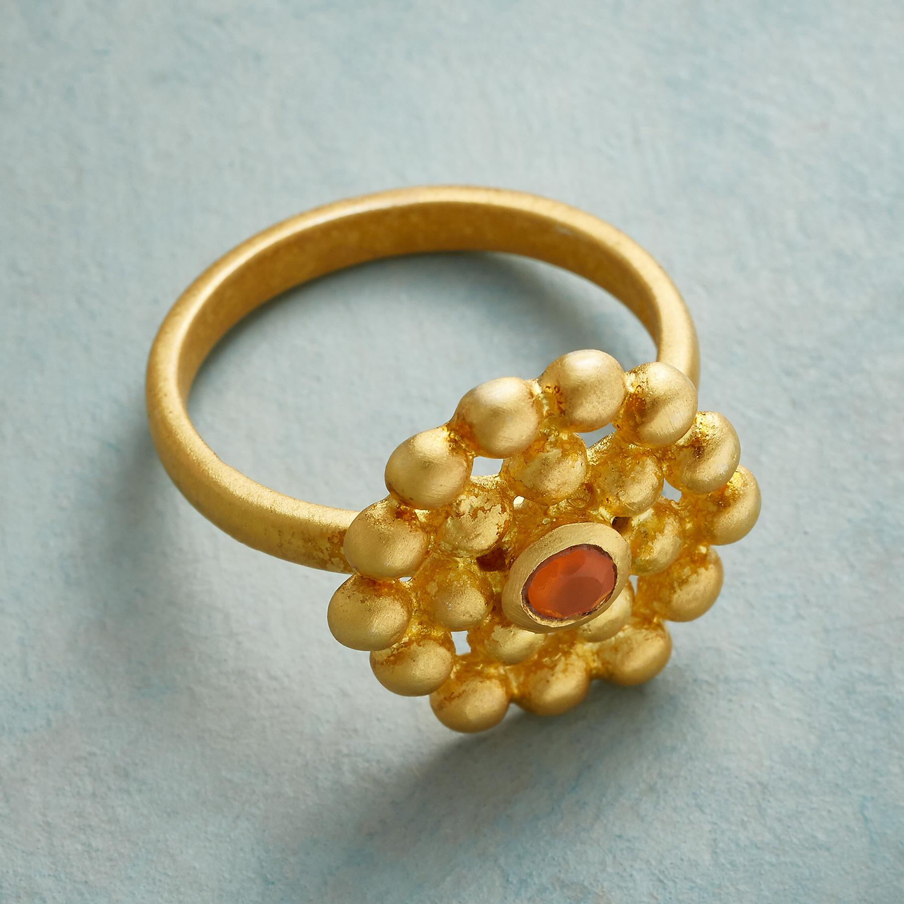 GOLDEN HOUR CARNELIAN RING: View 2