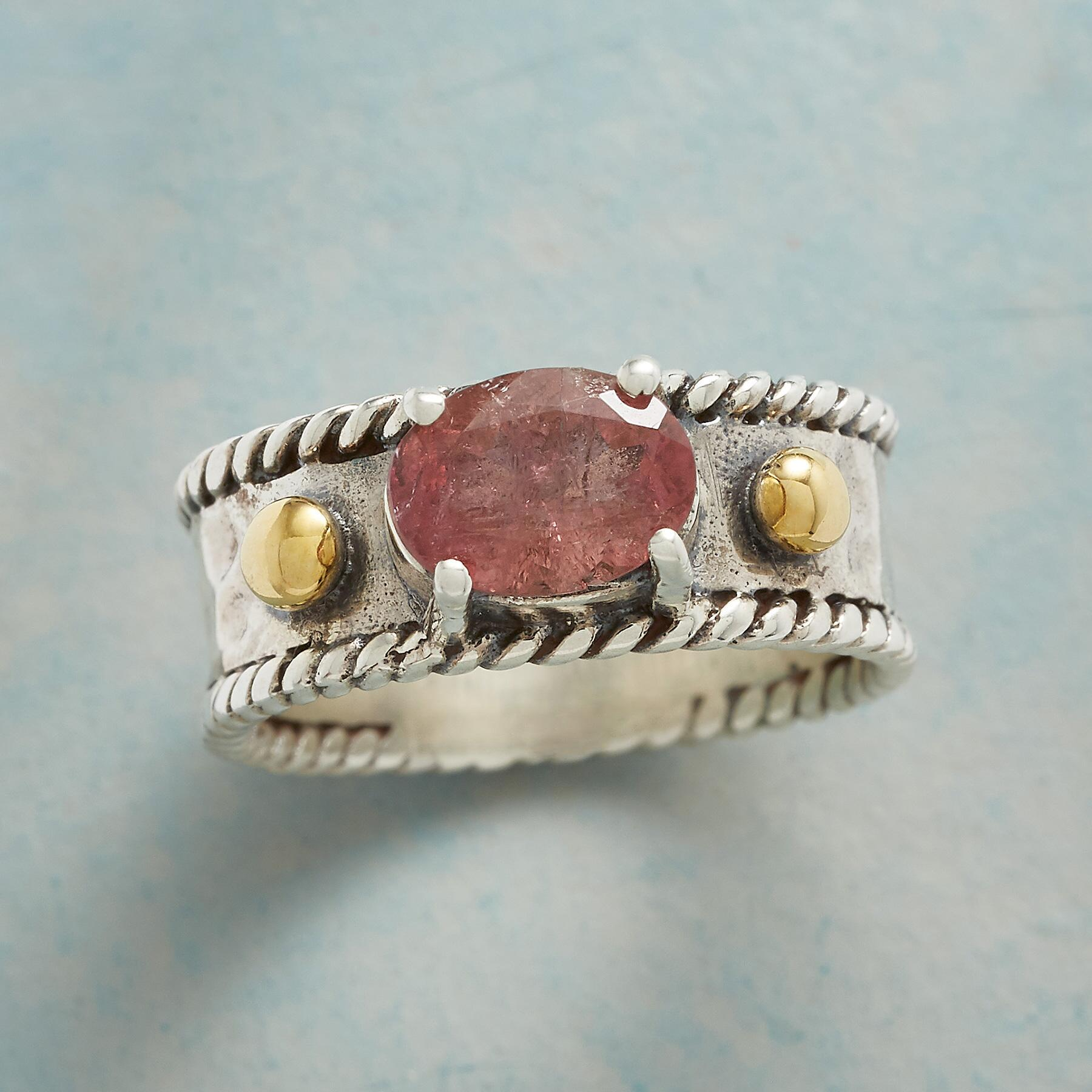 ANNABELLE PINK TOURMALINE RING: View 1