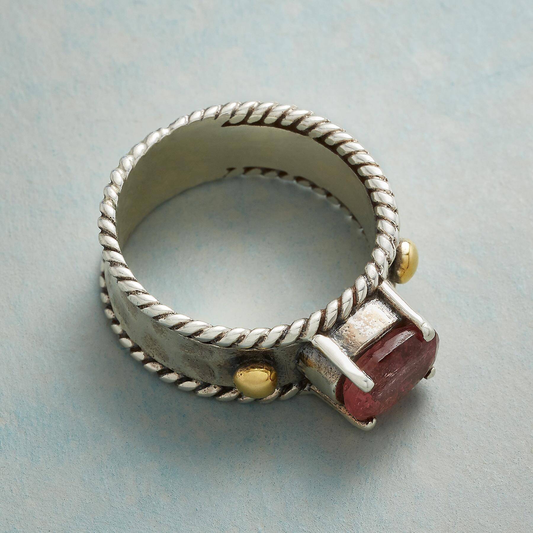 ANNABELLE PINK TOURMALINE RING: View 2