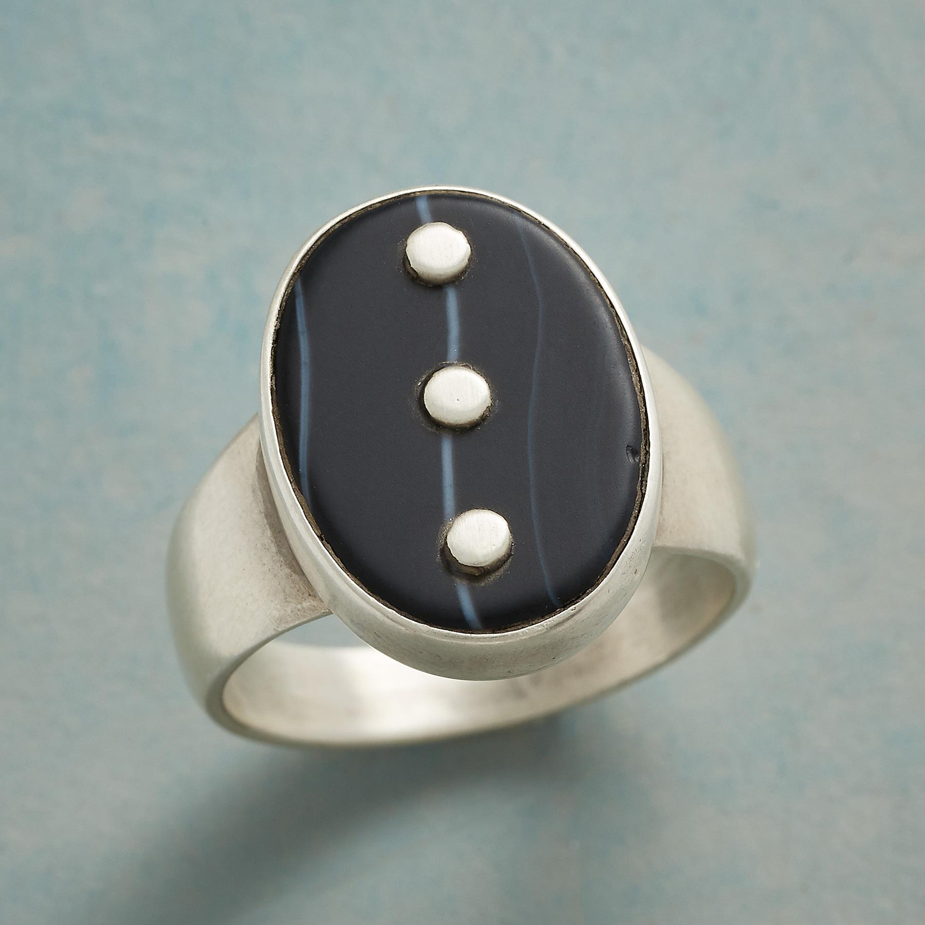 ONYX ELLIPSES RING: View 1