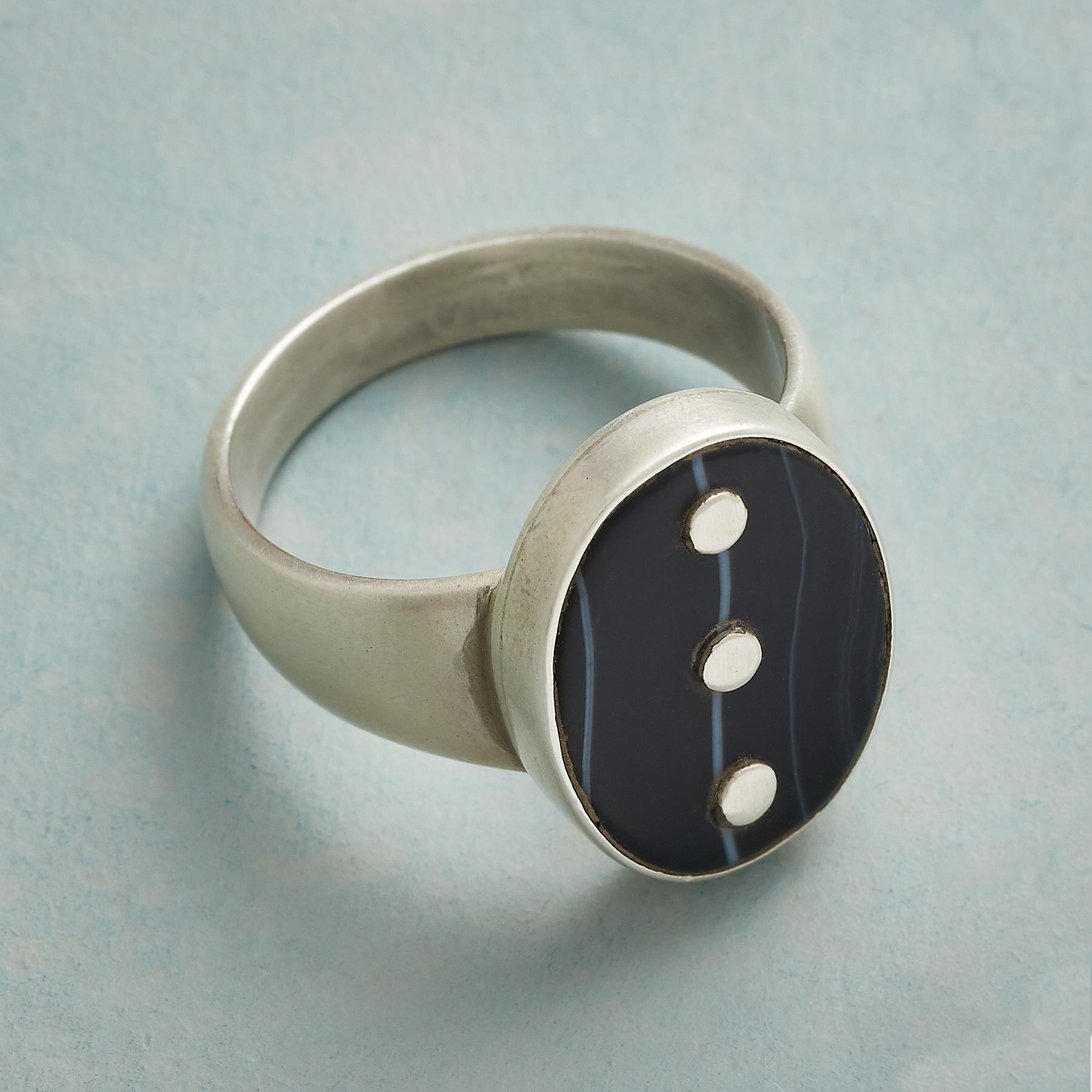 ONYX ELLIPSES RING: View 2