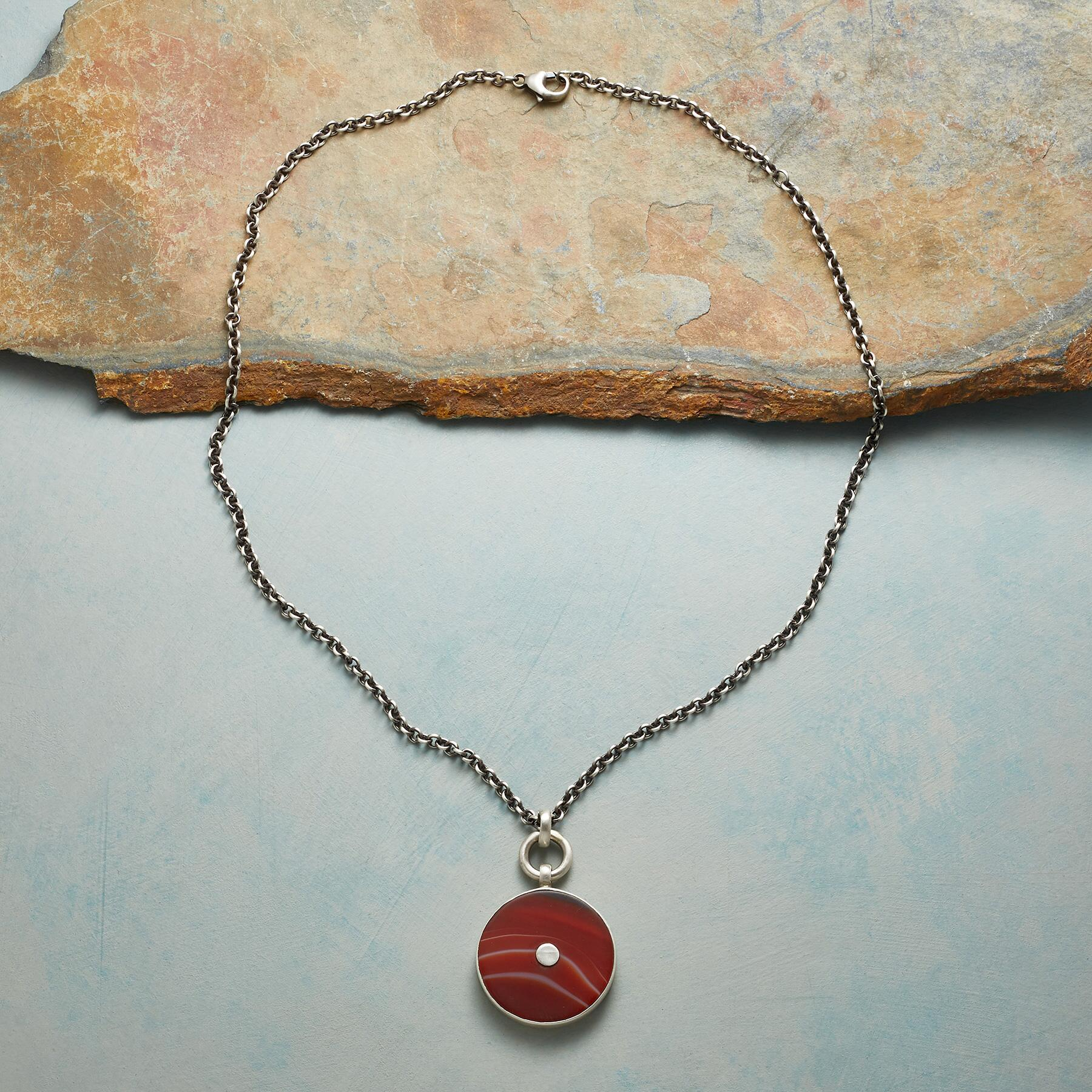 BLOOD ORANGE NECKLACE: View 2