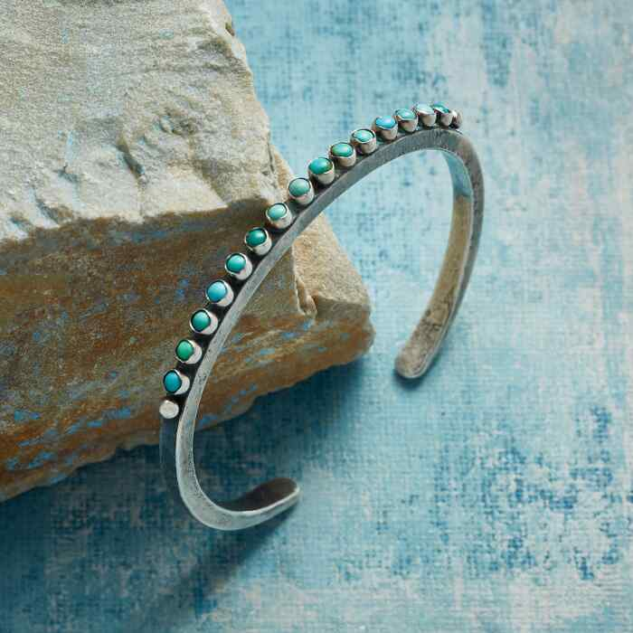 REFINED TURQUOISE CUFF