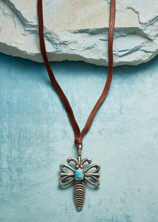 DRAGONFLY TALISMAN NECKLACE