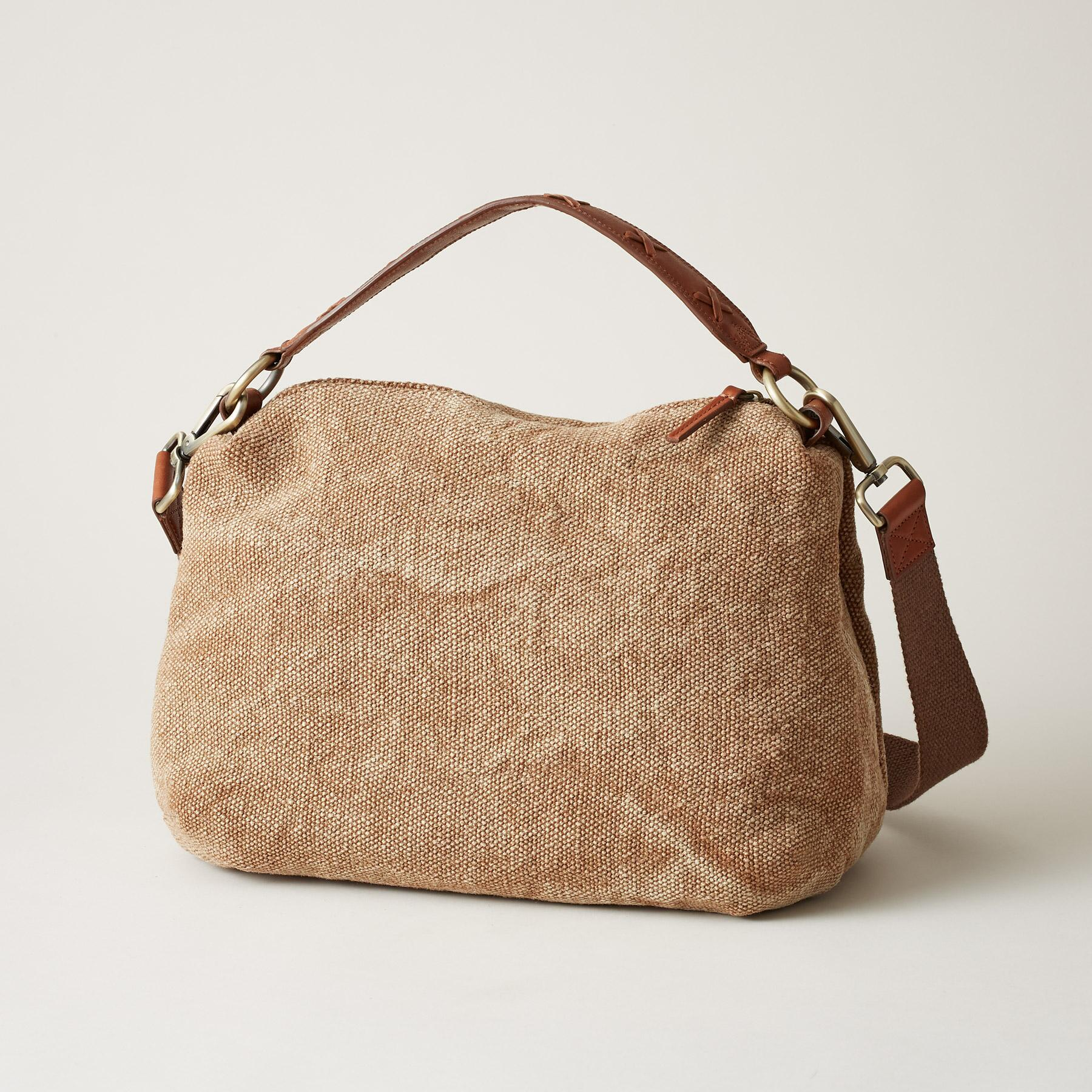 STITCHED LINEN BAG: View 2