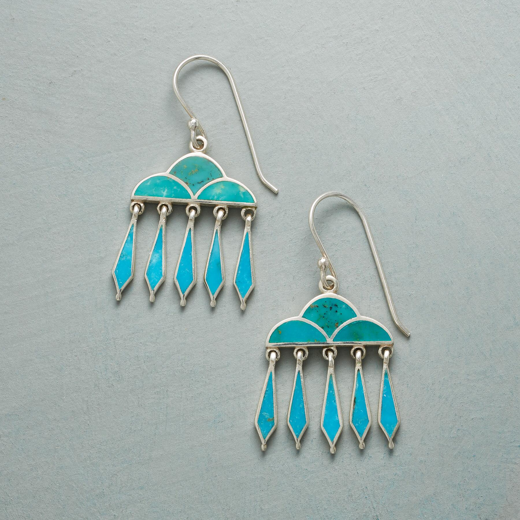 RAIN CLOUD EARRINGS: View 1