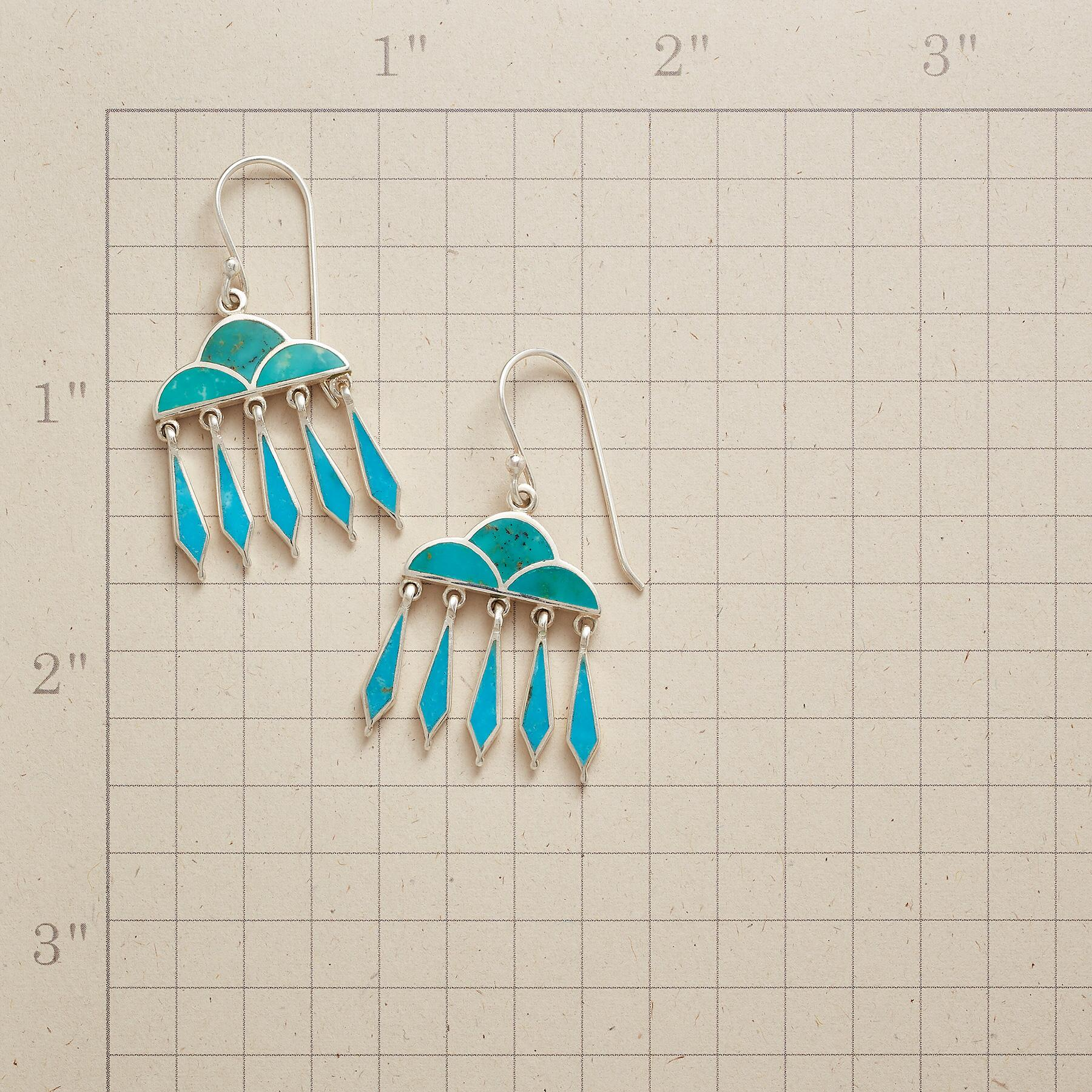RAIN CLOUD EARRINGS: View 2