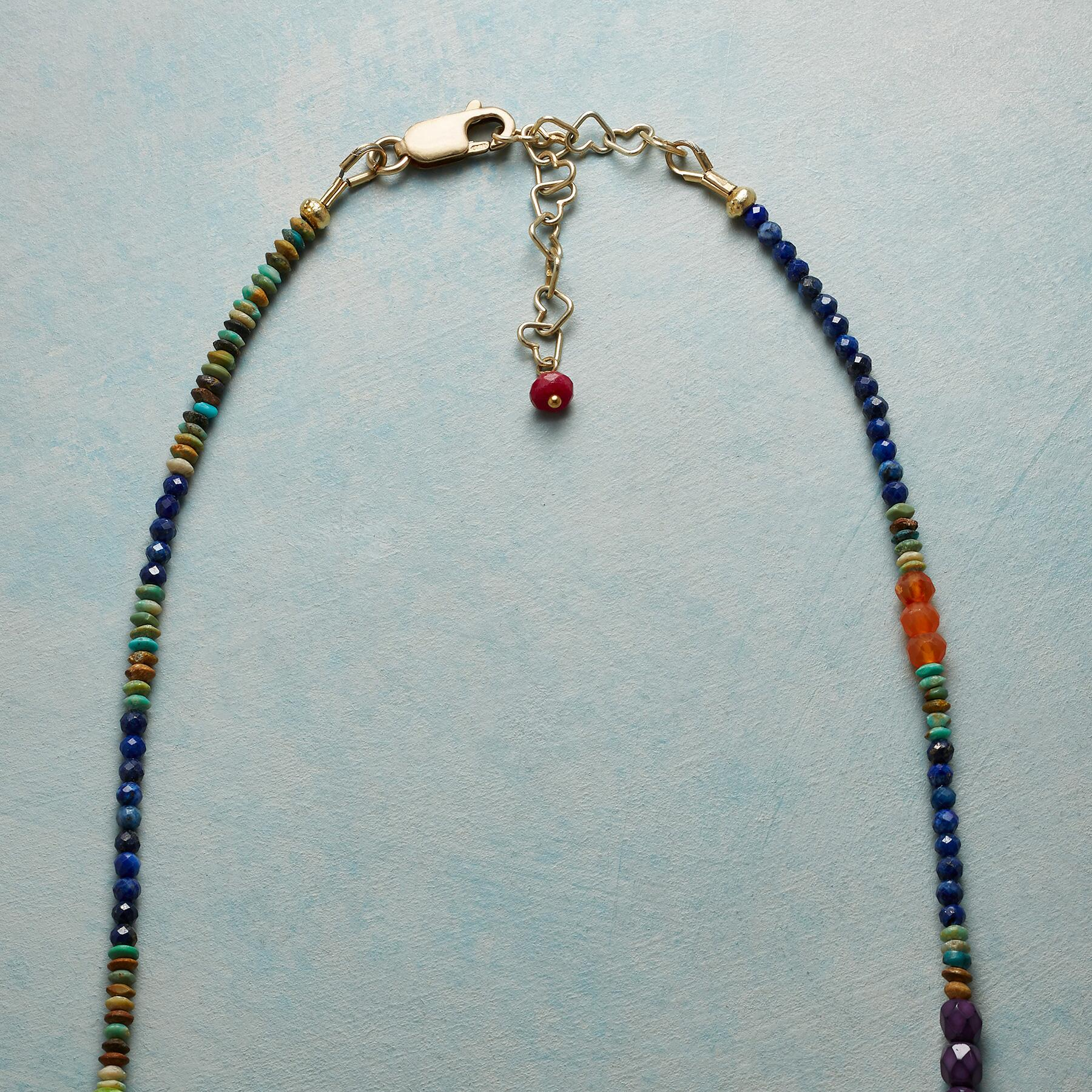 CLEOPATRA LAPIS NECKLACE: View 3