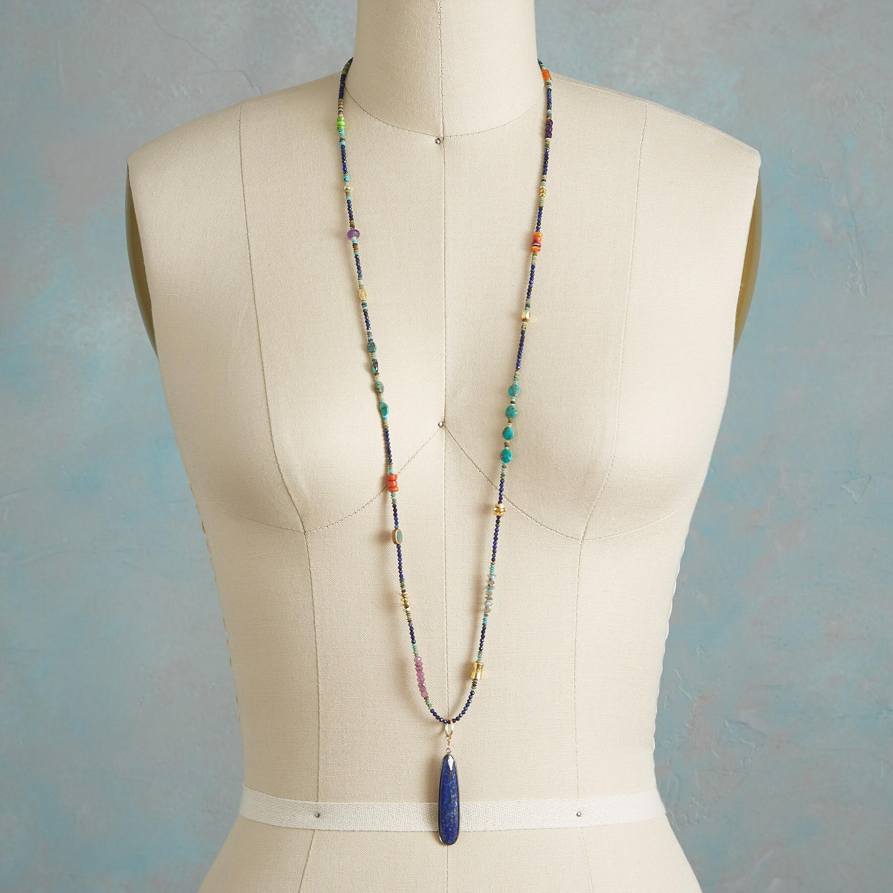 CLEOPATRA LAPIS NECKLACE: View 4
