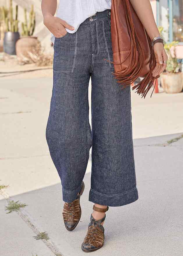 RIVER BANK PANTS - PETITES