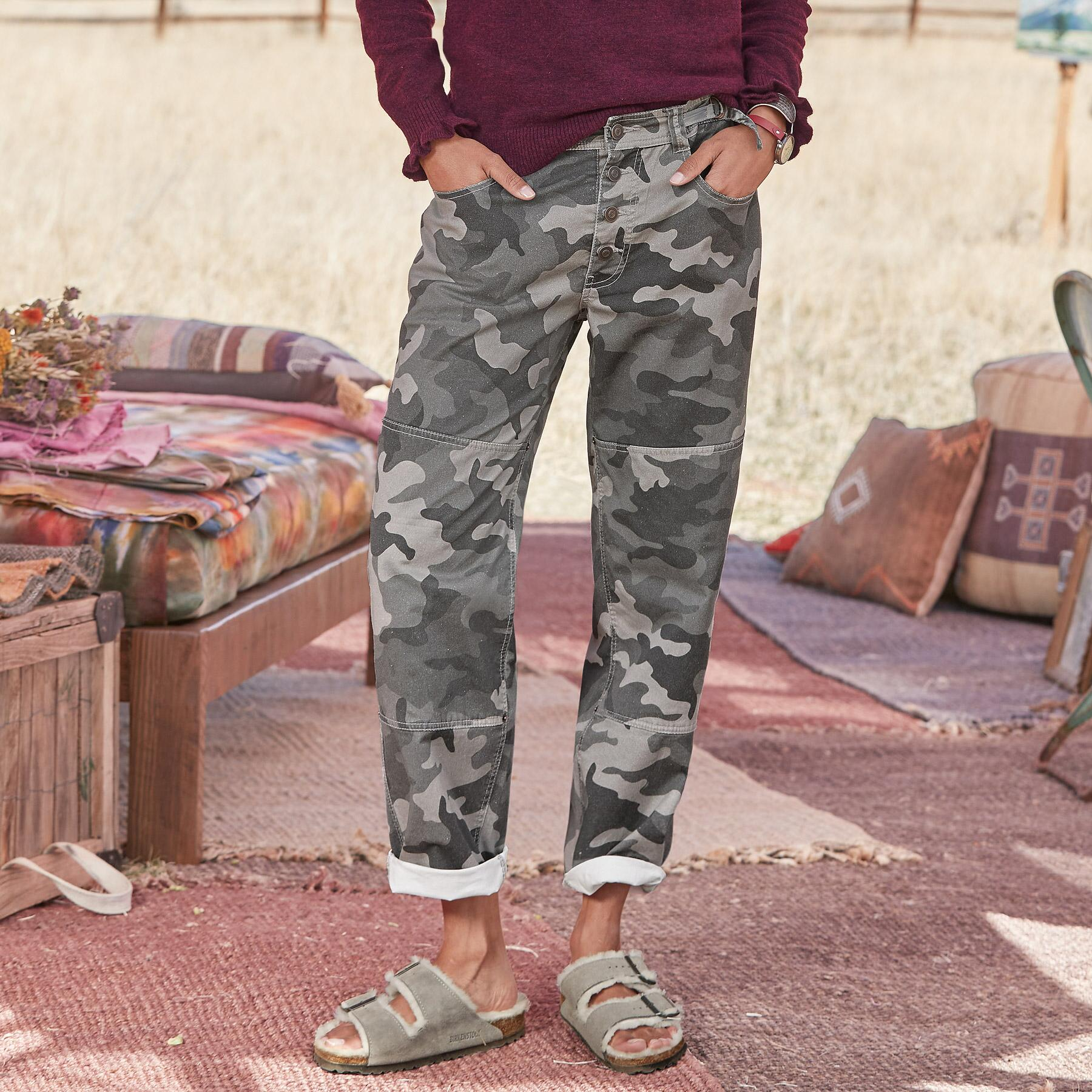 REED CAMO PANTS: View 1
