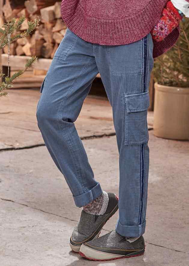 CLOVER CARGO PANTS - PETITES