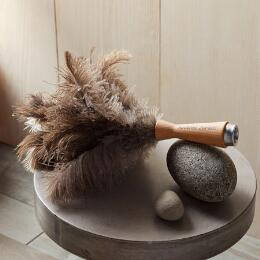 FRENCH COLLECTION SMALL FEATHER DUSTER