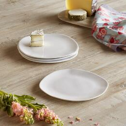 NATURA SALAD PLATE, SET OF 4