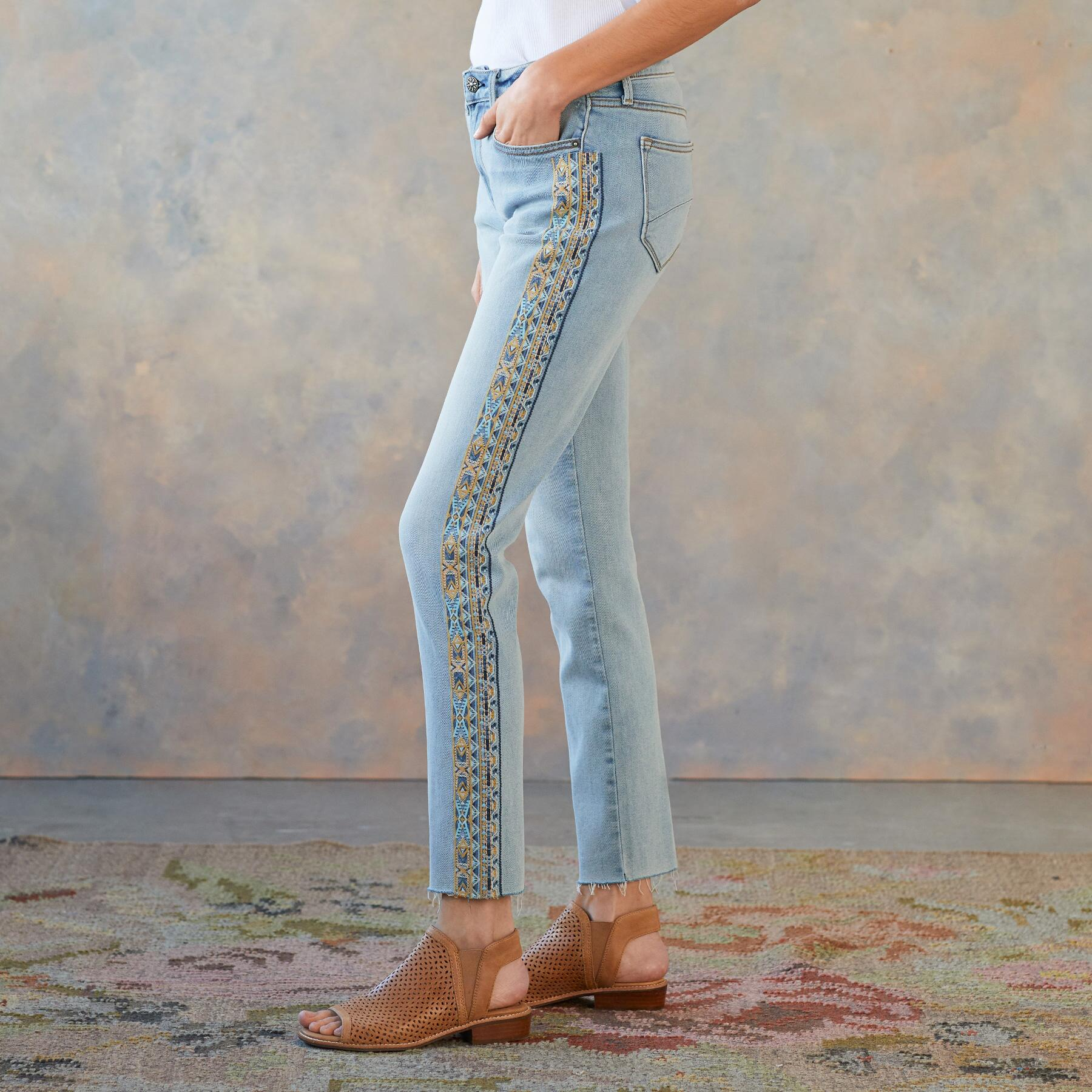 JACKIE EARTH & SKY JEANS: View 1