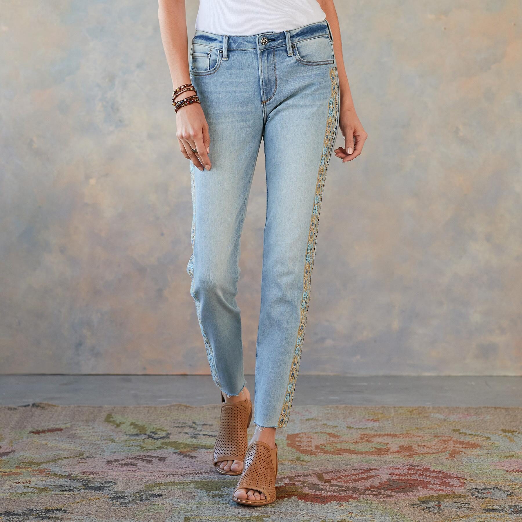 JACKIE EARTH & SKY JEANS: View 2