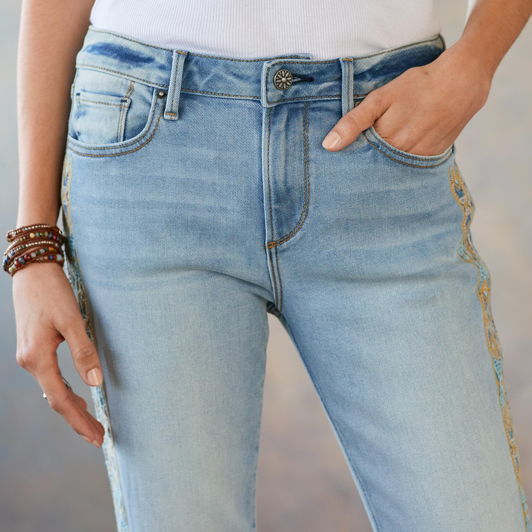 JACKIE EARTH AND SKY JEANS: View 4