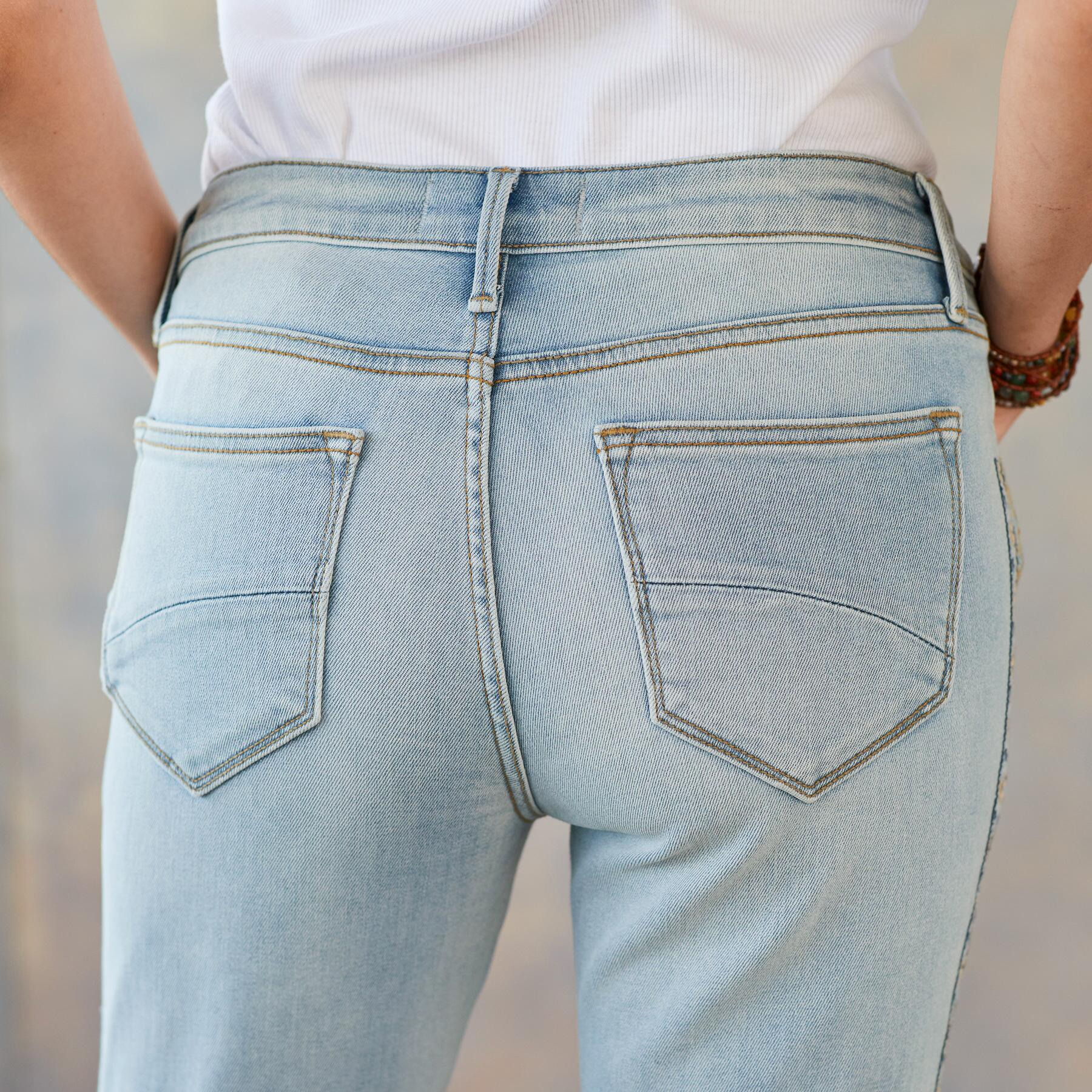 JACKIE EARTH AND SKY JEANS: View 5