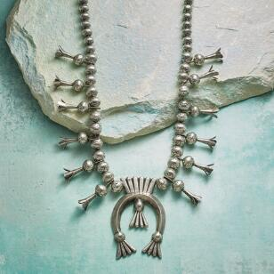 1950S BEGAY BLOSSOM NECKLACE