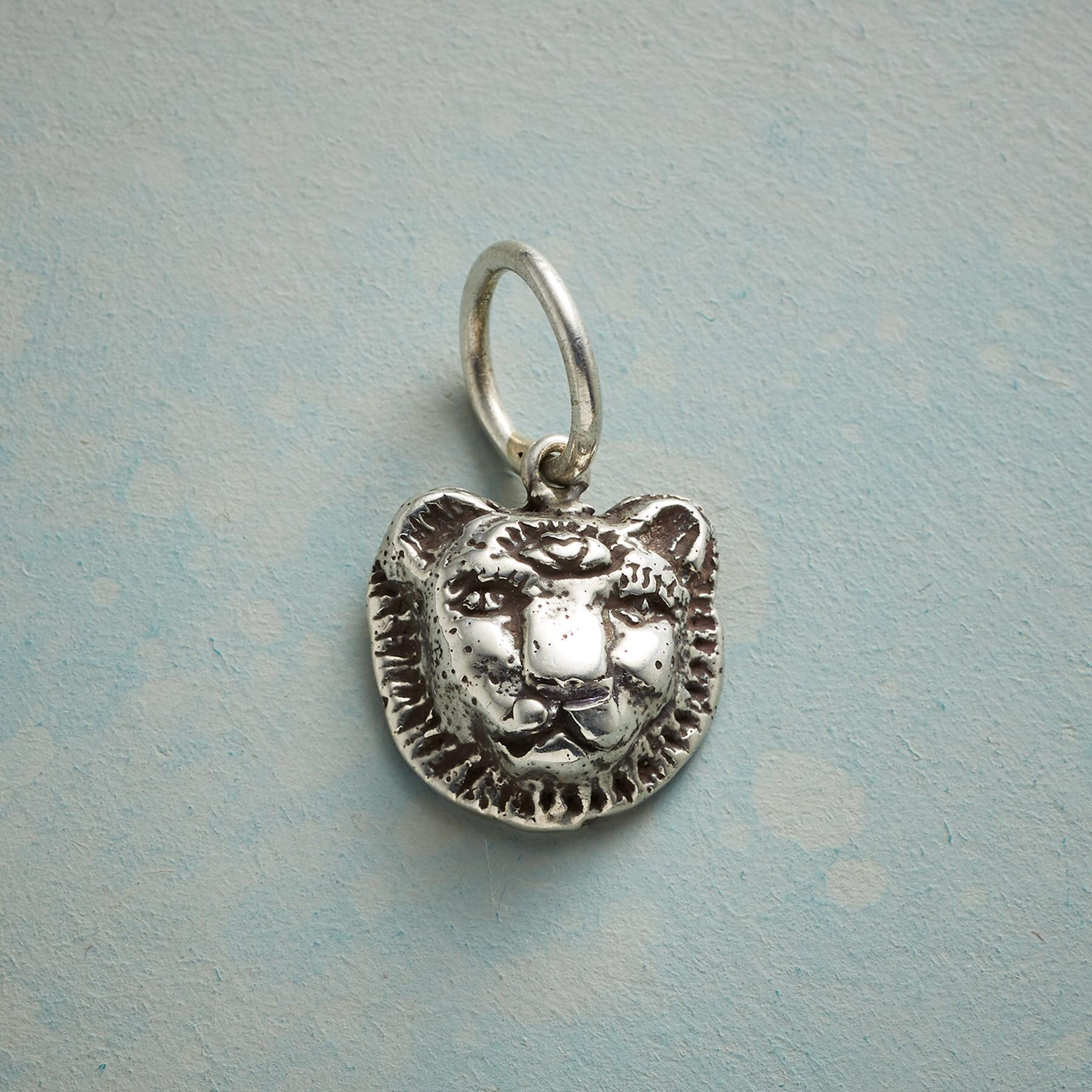 STERLING SILVER LIONESS TRUTH CHARM: View 1