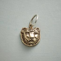 GOLD LIONESS TRUTH CHARM