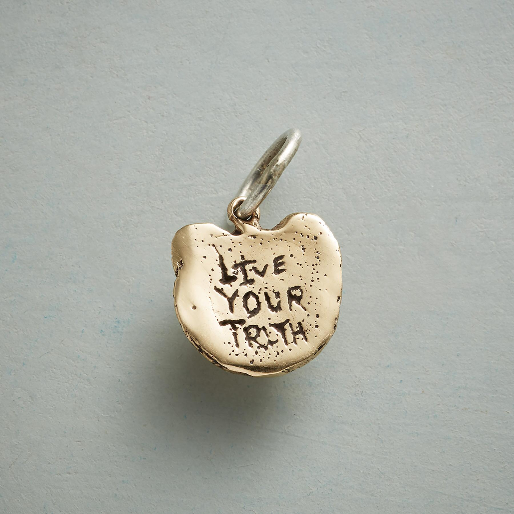GOLD LIONESS TRUTH CHARM: View 2