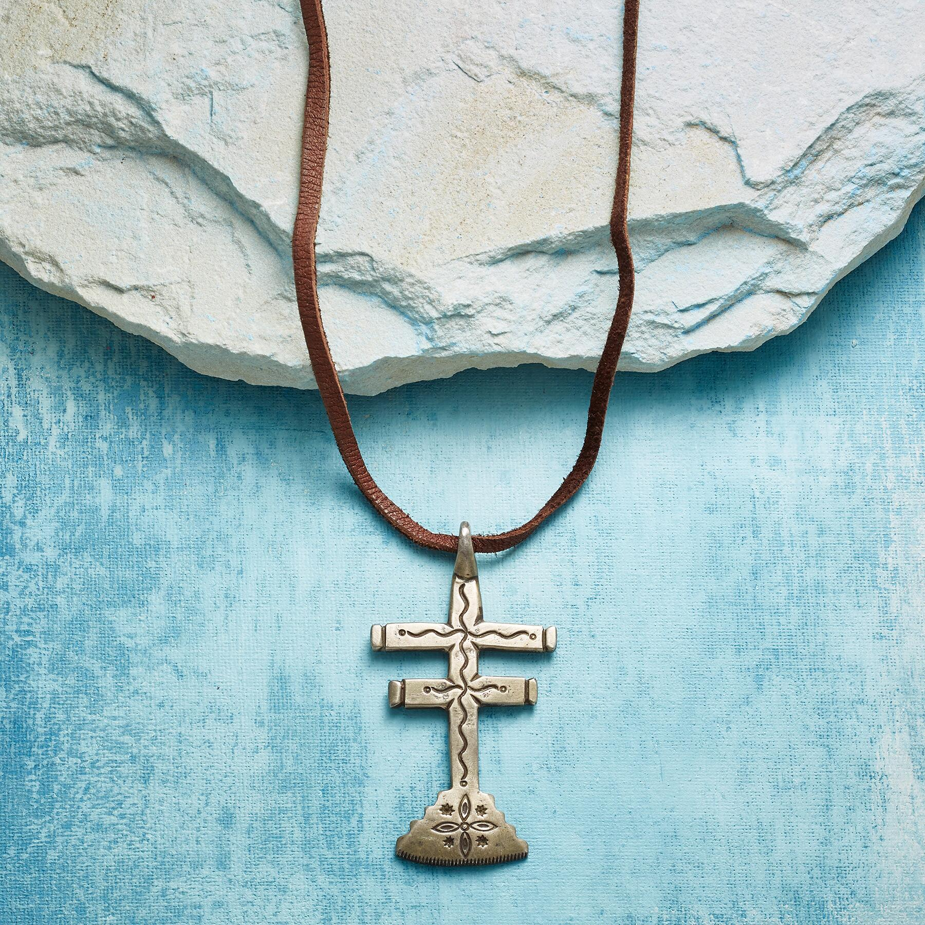 JOCK FAVOUR DRAGONFLY CROSS NECKLACE: View 1