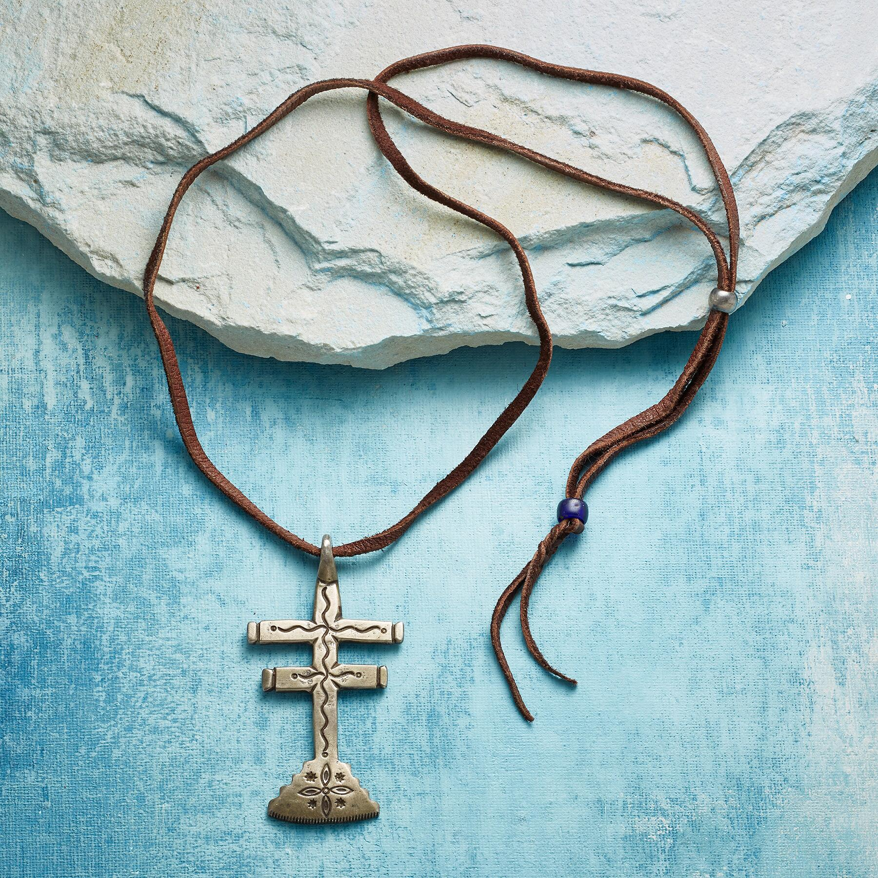 JOCK FAVOUR DRAGONFLY CROSS NECKLACE: View 2