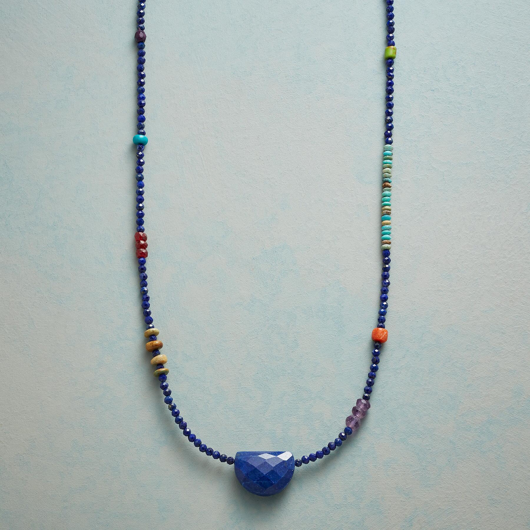 LAPIS INTERNATIONAL NECKLACE: View 1