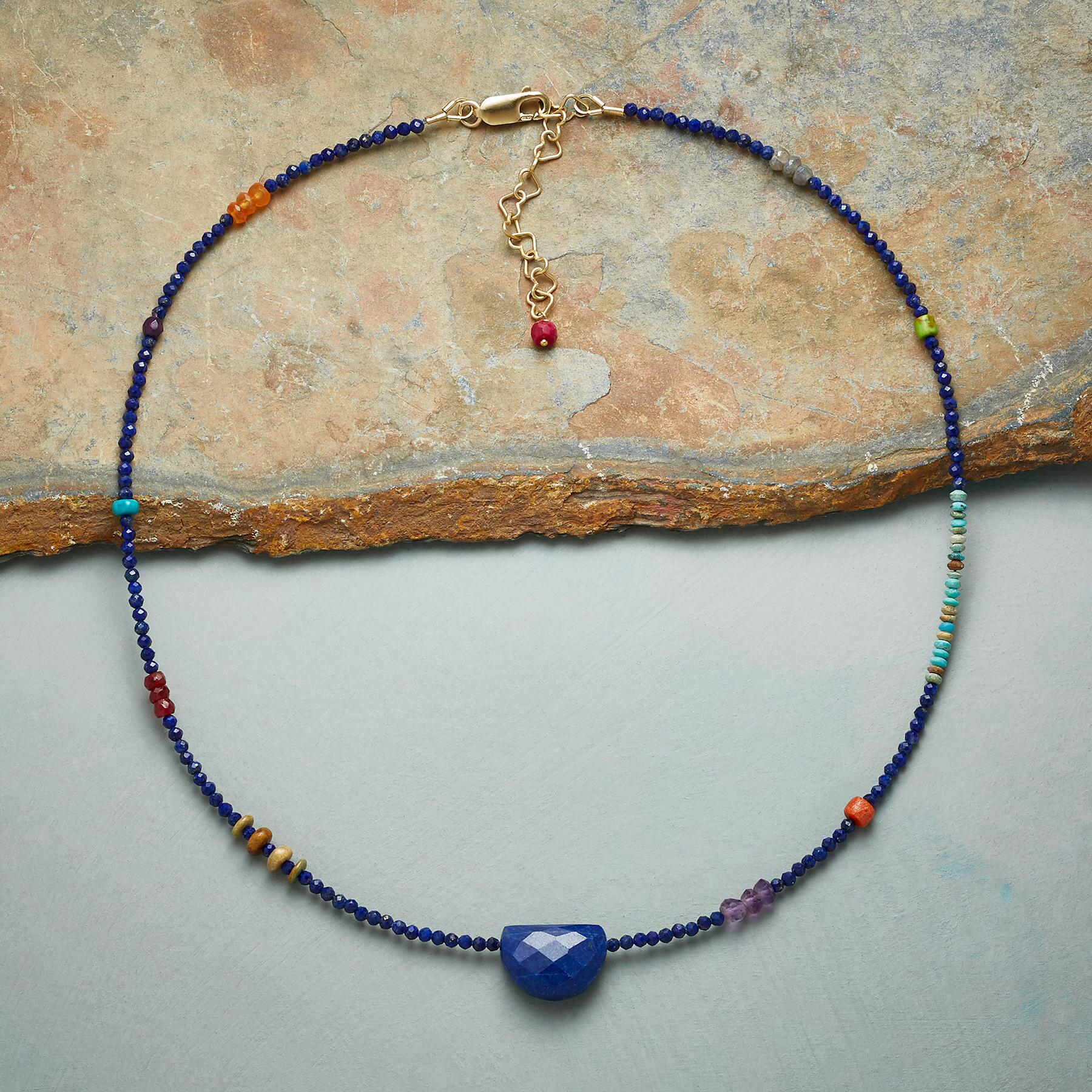 LAPIS INTERNATIONAL NECKLACE: View 2