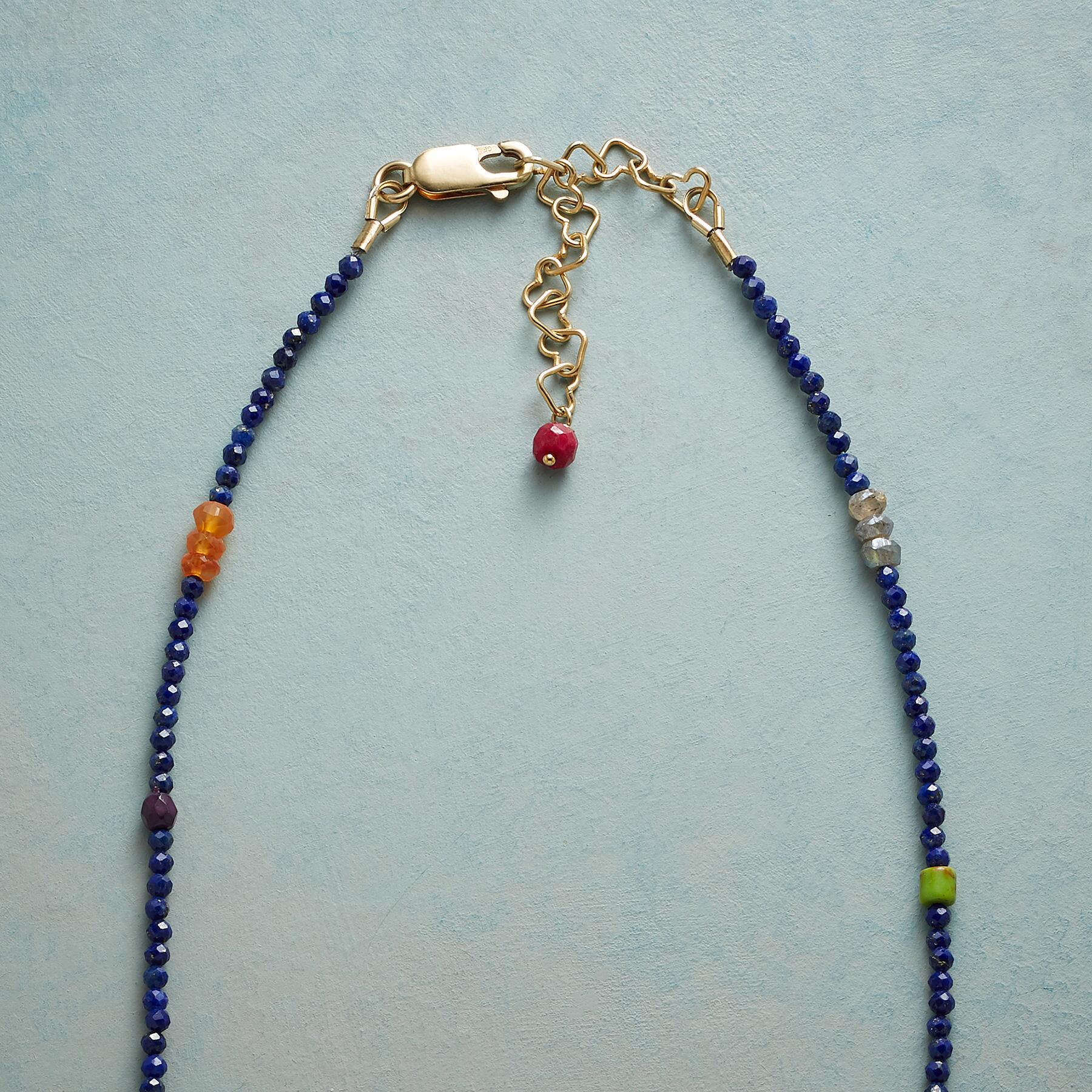 LAPIS INTERNATIONAL NECKLACE: View 3