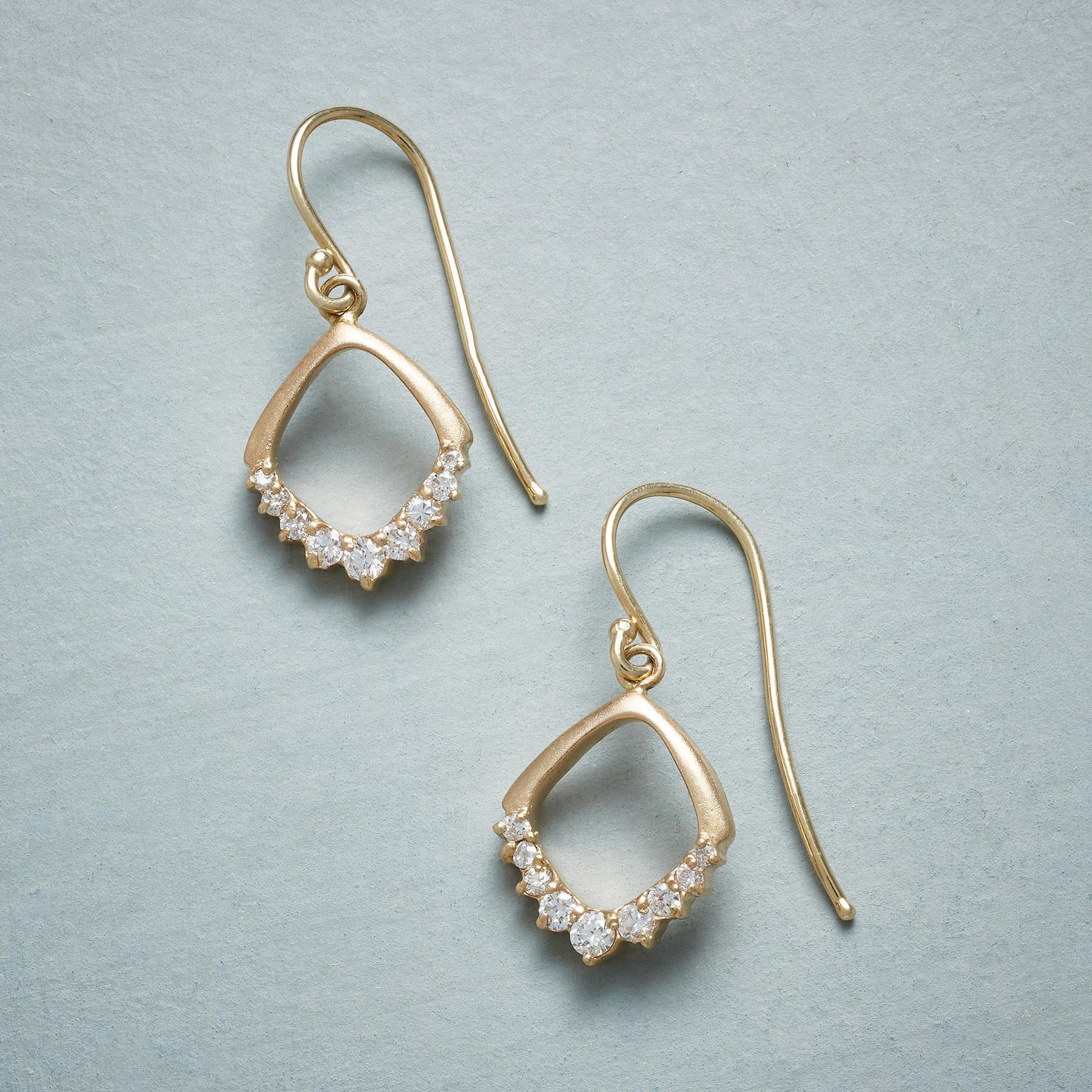 DIAMOND'S EDGE EARRINGS: View 1