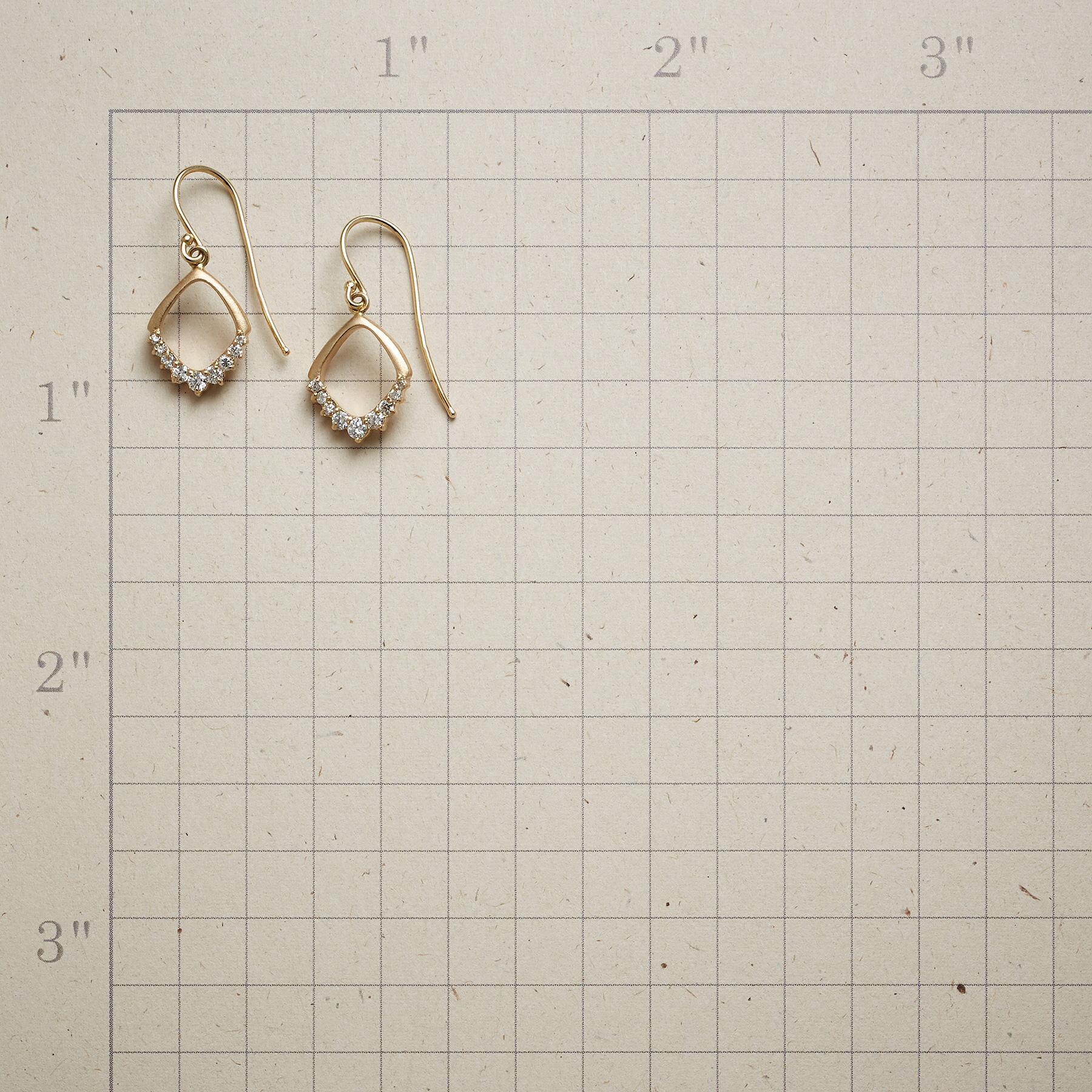 DIAMOND'S EDGE EARRINGS: View 2