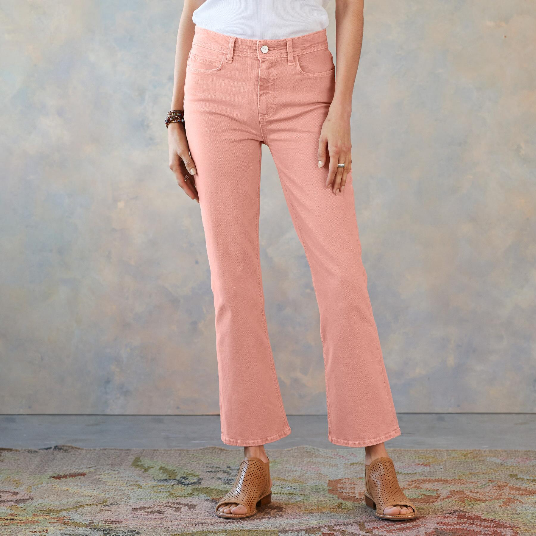 CLAUDINE ANKLE FLARE JEANS: View 1