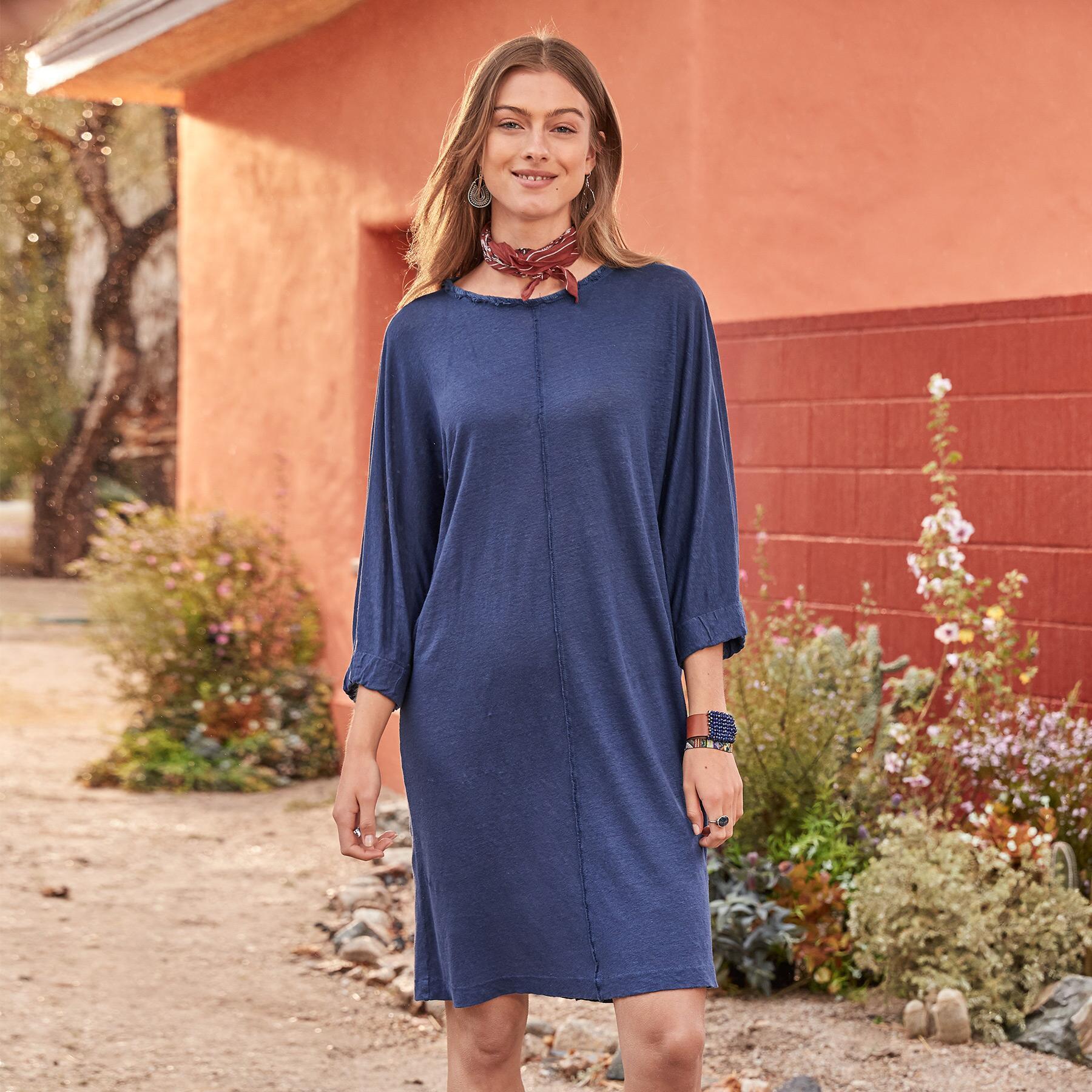 EVERYDAY LINEN DRESS: View 2