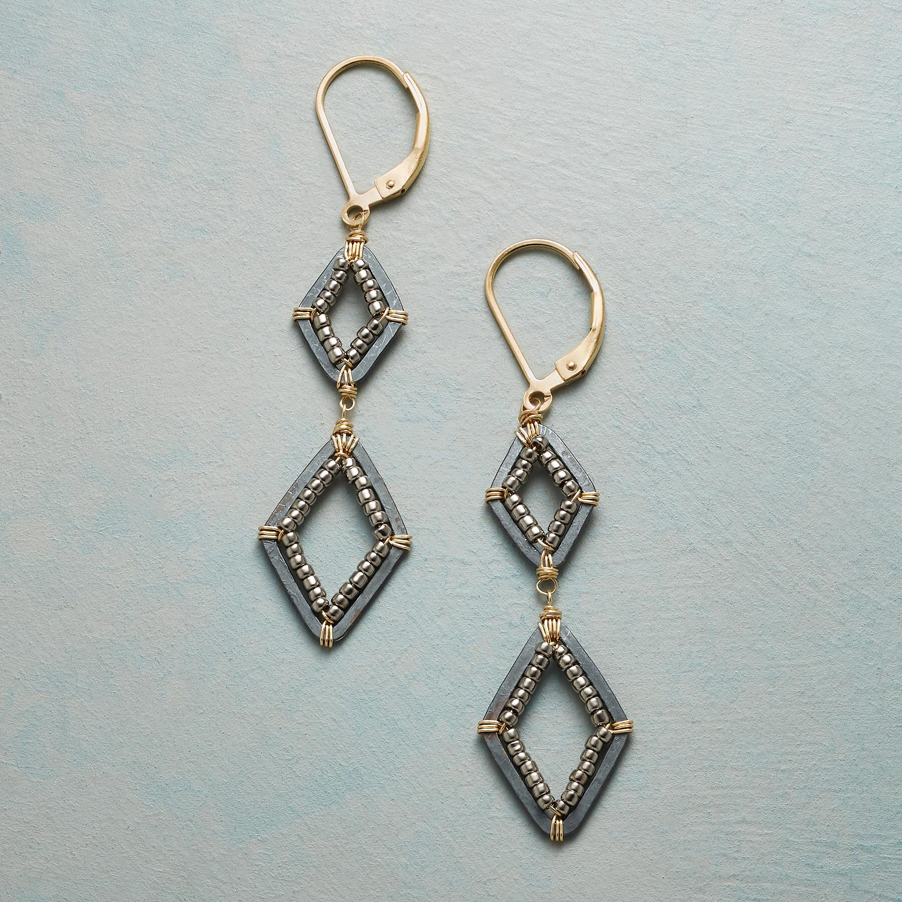 TWO OF A PAIR EARRINGS: View 1