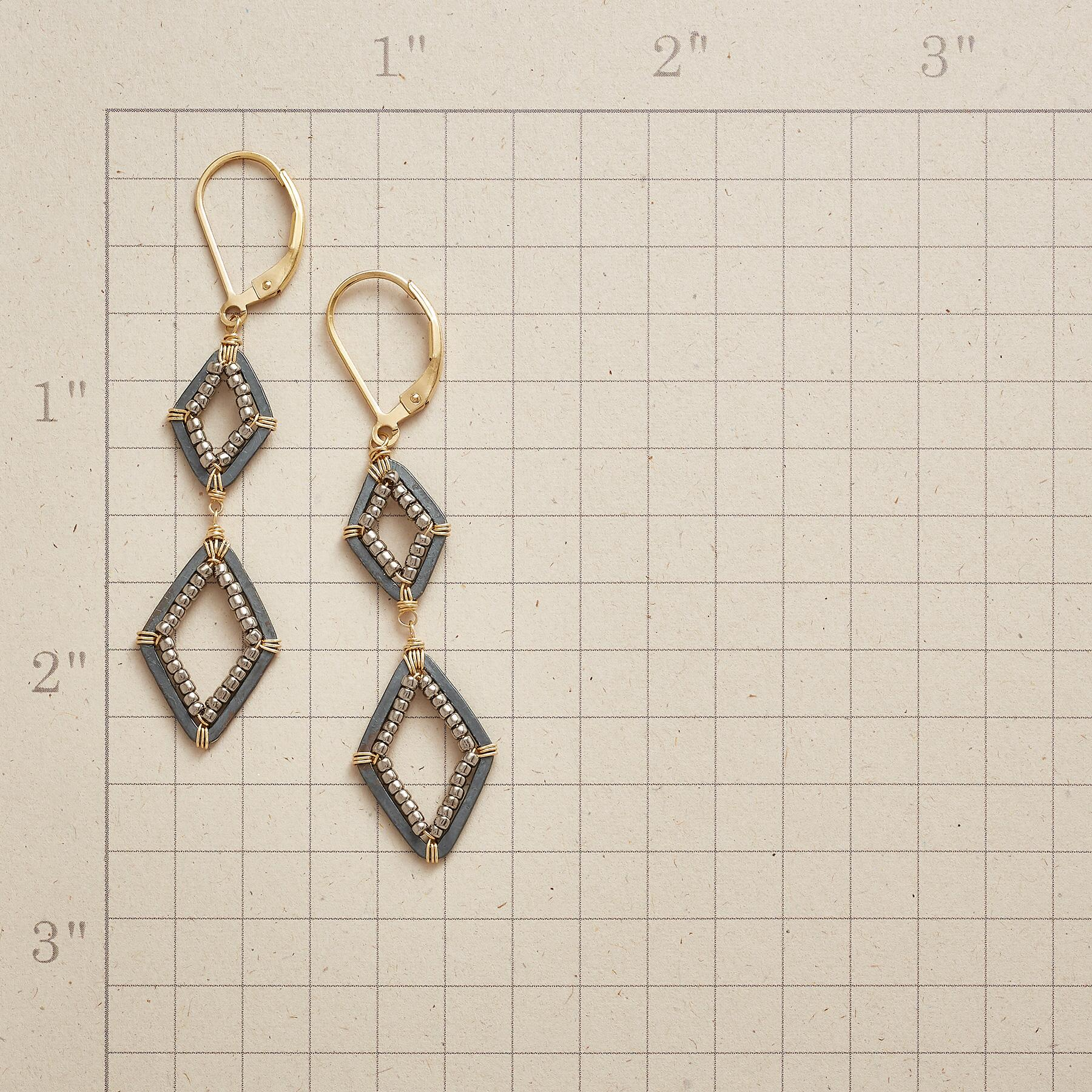 TWO OF A PAIR EARRINGS: View 2