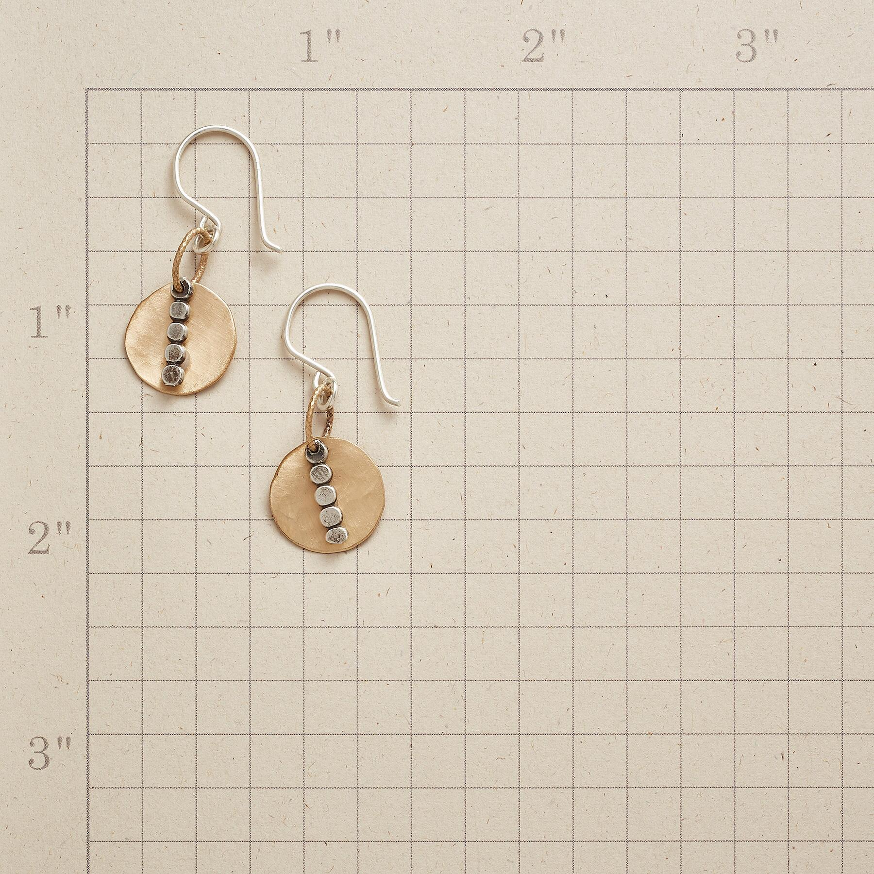 ON REFLECTION EARRINGS: View 2