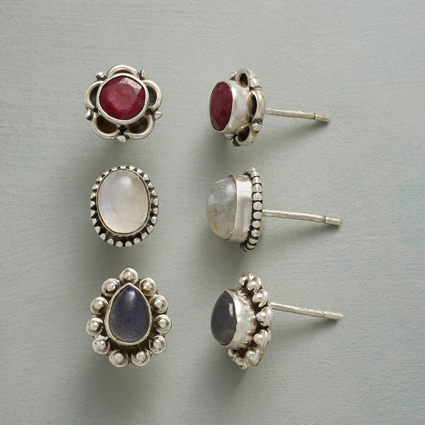 ESSENTIAL EARRING TRIO: View 1
