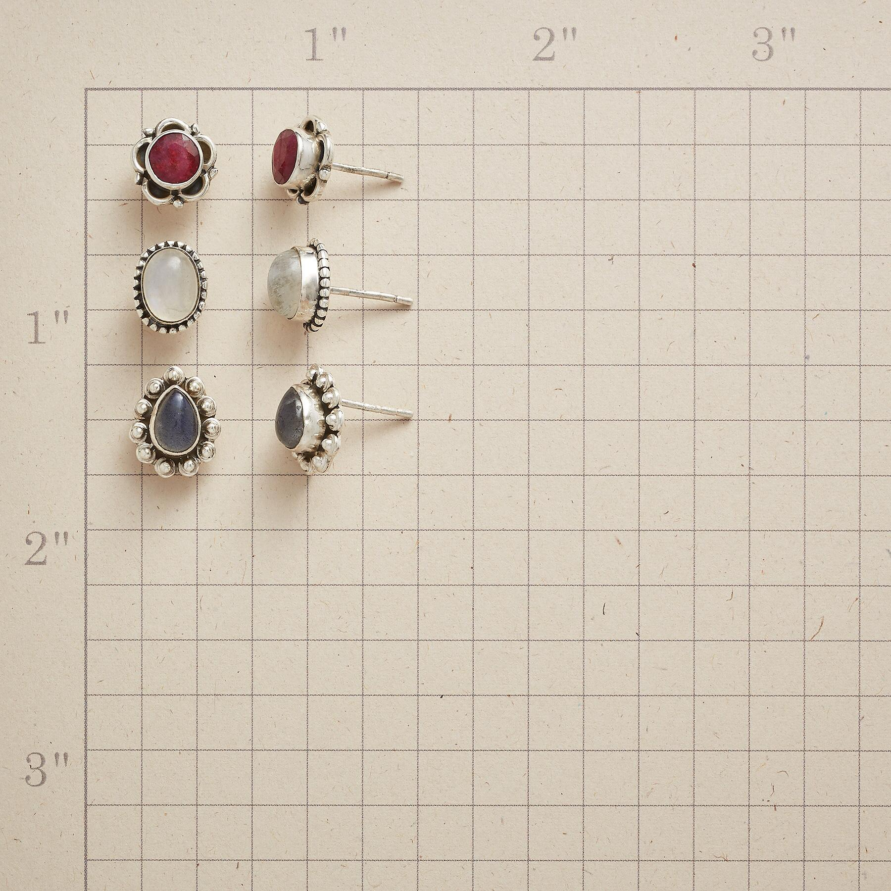 ESSENTIAL EARRING TRIO: View 2